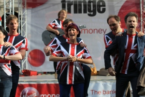 War of the Waleses photos by Neil Ballinger Virgin Money Street Stage The Man on Your Back
